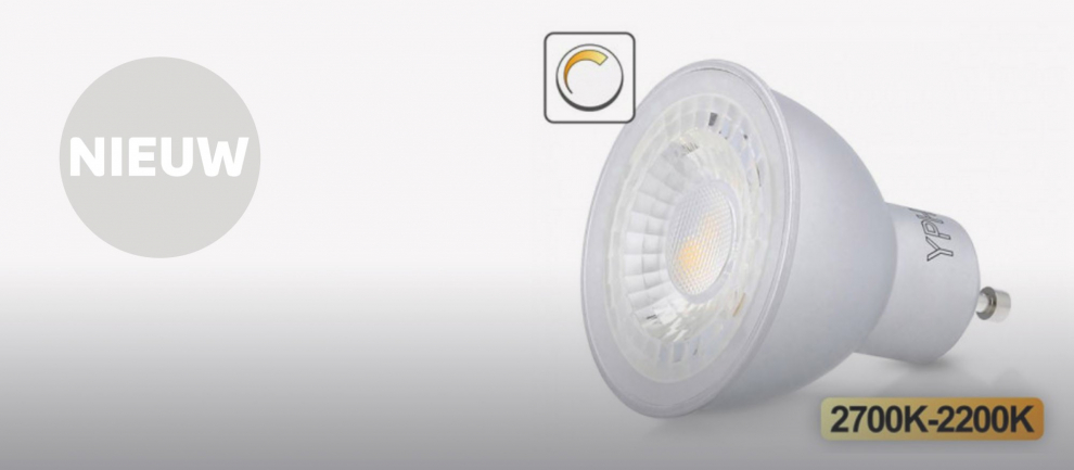 nieuw: Yphix DimFlame lamp GU10