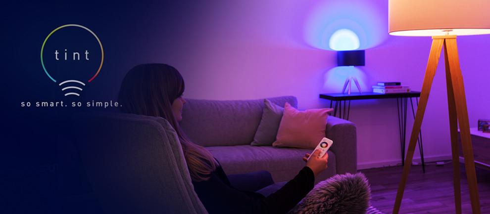 Tint slimme verlichting in huis