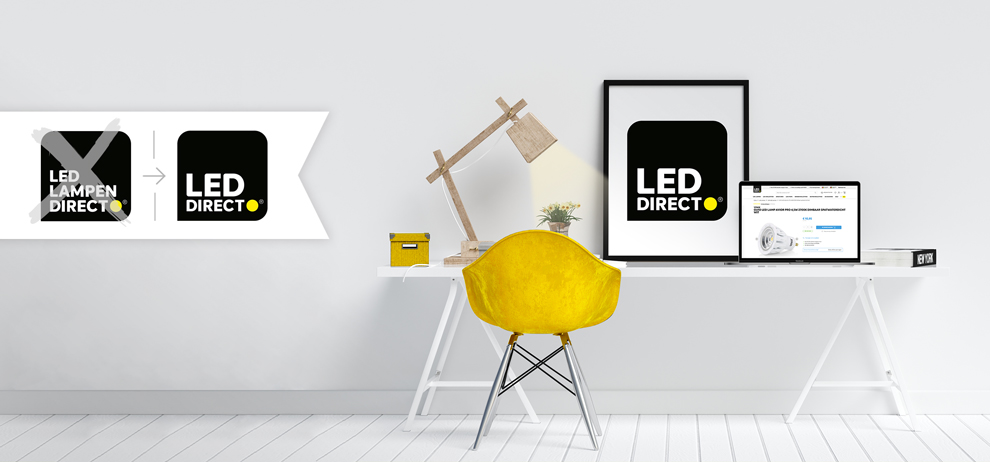 LedLampenDirect is vanaf nu LEDdirect