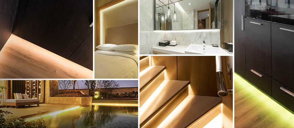 25+ toepassingen voor LED strips in huis