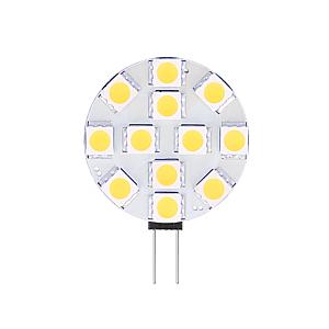 G4/GU4 LED lamp 12-24V 2,4W SMD 2900K dimbaar