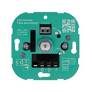LED dimmer 3-35W T37 inbouw 230V fase aansnijding