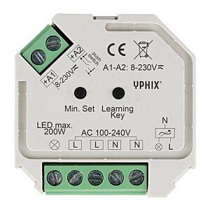 Draadloze LED dimmer 230V