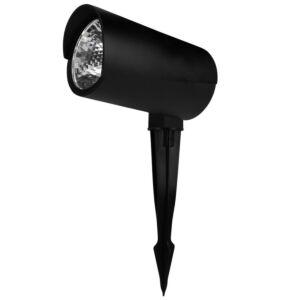 LED prikspot Rengard 12W zwart 3000K IP65