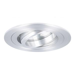 LED inbouwspot Montella rond 5W 2700K aluminium IP65 dimbaar kantelbaar