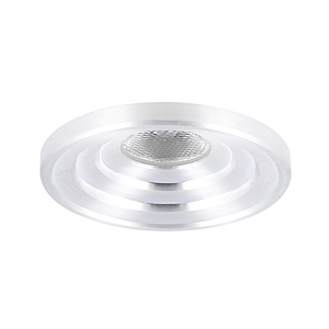LED inbouwspot Arola rond 3W 2700K aluminium IP55 dimbaar