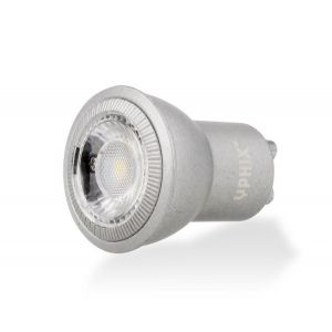 GU10 LED lamp Naos MR11 4W 2700K dimbaar alu