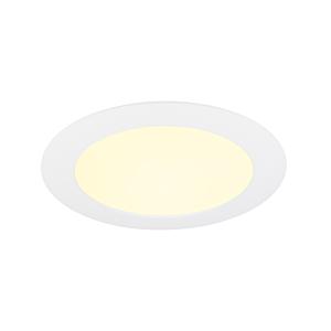 LED-Downlight 18cm inbouw 11W 2900K IP44 dimbaar