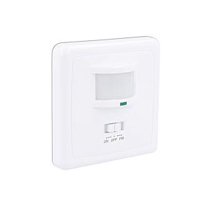 LED Bewegingsmelder muur inbouw wit