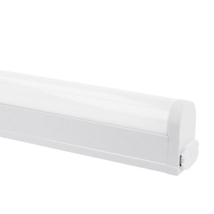 LED keukenverlichting 55cm Linex opbouw 7W switch tone aluminium