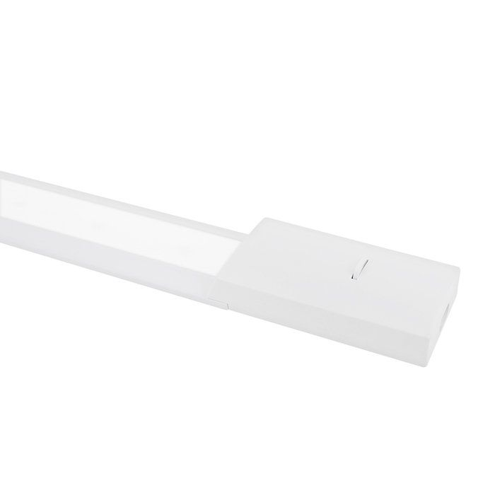 LED keukenverlichting 60cm Risa opbouw 10W 4000K aluminium