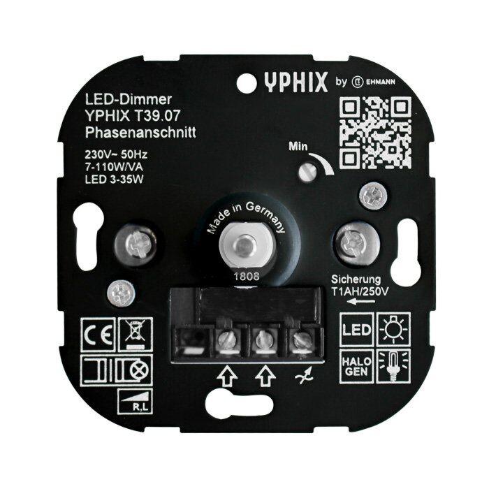 LED dimmer 3-35W T39 inbouw 230V fase aansnijding