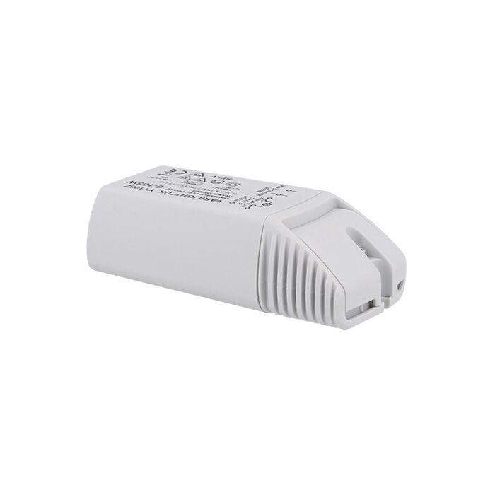 Electronische LED transformator 12V 9,1A Max. 105W dimbaar