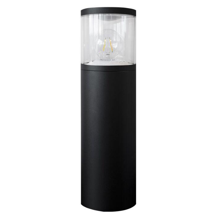 Staande lamp Storlien zwart E27 IP54