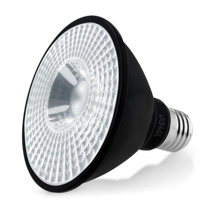 E27 LED lamp Pollux Par 30 11W 4000K dimbaar zwart