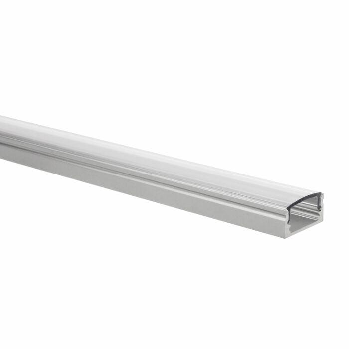 LED strip profiel Potenza 1 meter inclusief transparante afdekkap