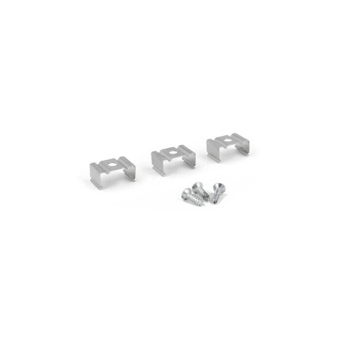 Montageclips aluminium voor ledstrip profiel Potenza hoog