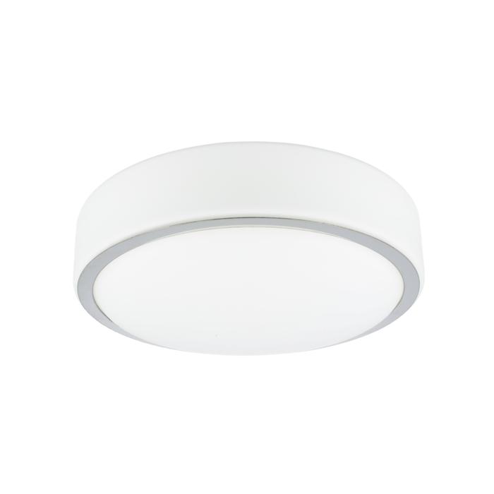 LED plafonnière Zamora rond 25,5 cm IP44 glas