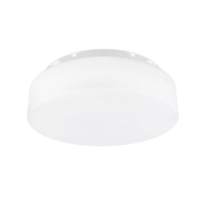LED plafonnière Pravia rond 25 cm IP44 glas