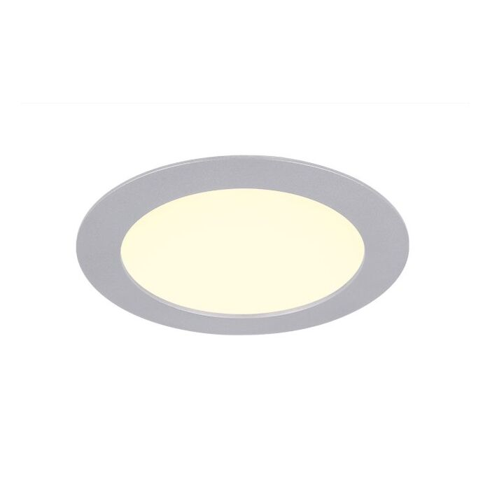 LED-Downlight 18cm aluminium inbouw 11W 2900K IP44 dimbaar