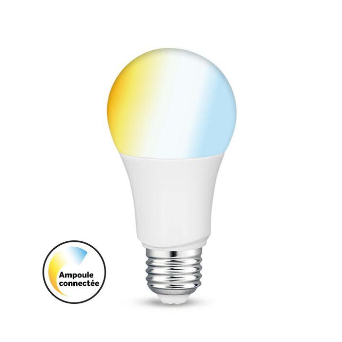 E27 Smart LED lamp tint A60 9W 2700K-6500K dimbaar