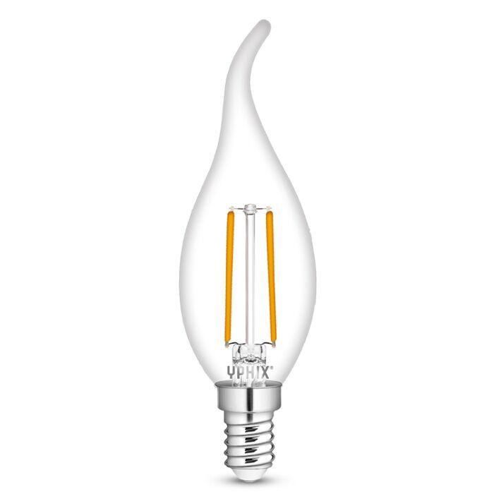 E14 LED kaarslamp Polaris B35 2,5W 2700K helder